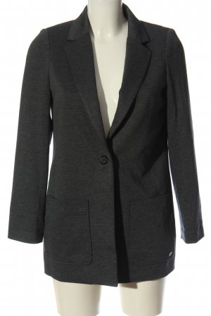 Tom Tailor Knitted Blazer blue flecked business style