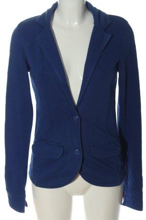 Tom Tailor Strickblazer blau Business-Look