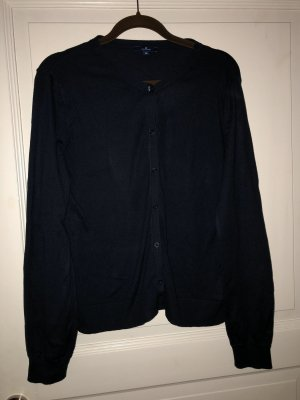 Tom Tailor Strickjacke blau Gr. M