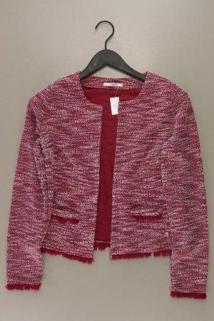 Tom Tailor Strickjacke Größe 38 Langarm rot aus Polyester