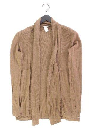 Tom Tailor Strickjacke Größe M Langarm braun aus Baumwolle