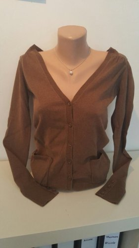 Tom Tailor Denim Shirt Jacket cognac-coloured
