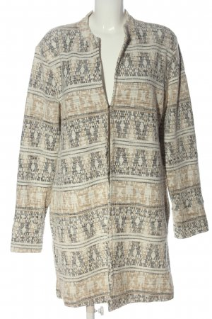 Tom Tailor Knitted Coat abstract pattern casual look