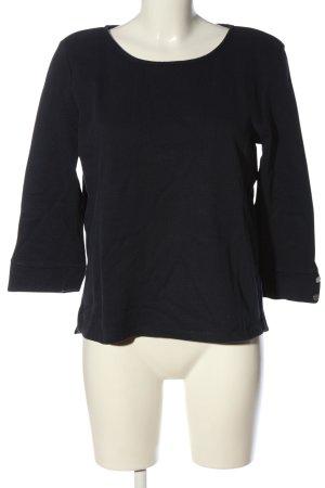 Tom Tailor Pull tricoté noir style décontracté