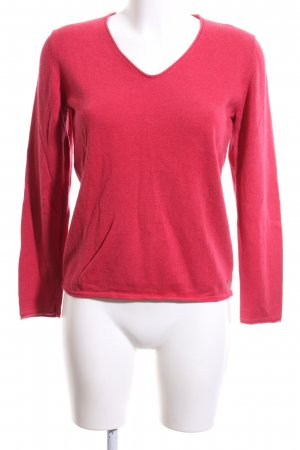 Tom Tailor Strickpullover rot Casual-Look