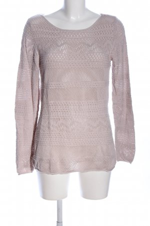 Tom Tailor Strickpullover wollweiß Casual-Look