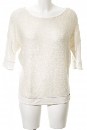 Tom Tailor Strickpullover creme Casual-Look