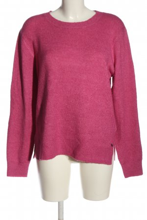 Tom Tailor Strickpullover pink Casual-Look