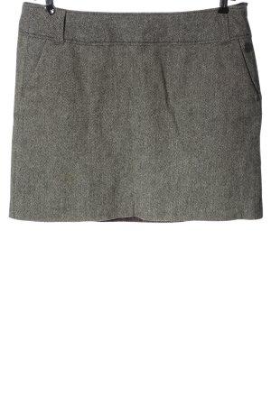 Tom Tailor Jupe tricotée gris clair moucheté style décontracté
