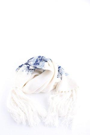Tom Tailor Strickschal weiß-blau meliert Casual-Look