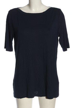 Tom Tailor Strickshirt blau Casual-Look