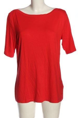 Tom Tailor Strickshirt rot Casual-Look