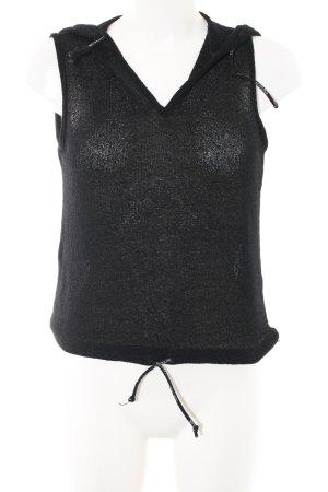 Tom Tailor Gebreide top zwart casual uitstraling