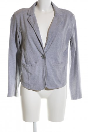 Tom Tailor Sweatblazer hellgrau meliert Business-Look
