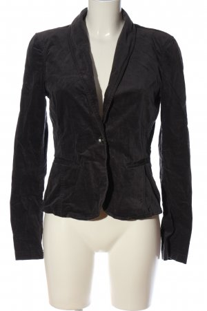 Tom Tailor Sweatblazer schwarz Casual-Look