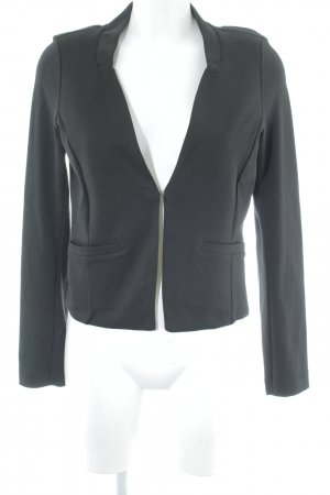 Tom Tailor Sweatblazer schwarz Business-Look