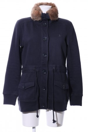 Tom Tailor Sweatjacke blau-braun Casual-Look