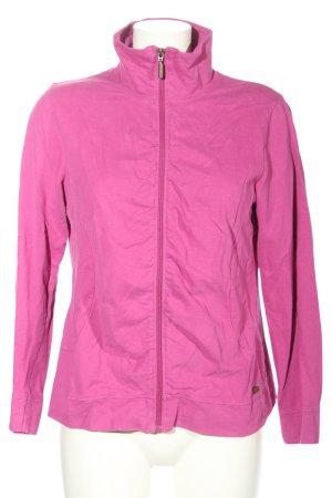 Tom Tailor Sweatjacke pink Casual-Look