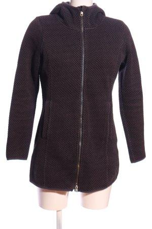 Tom Tailor Sweatshirt lila-schwarz Webmuster Casual-Look