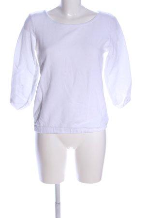Tom Tailor Sweatshirt weiß Casual-Look