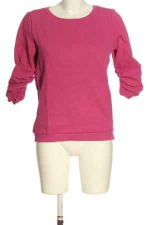 Tom Tailor Felpa rosa stile casual