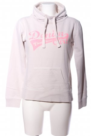 Tom Tailor Sweatshirt pink Schriftzug gedruckt Casual-Look