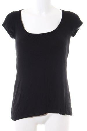 Tom Tailor T-Shirt schwarz Casual-Look