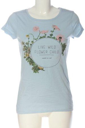 Tom Tailor T-Shirt Blumenmuster Casual-Look