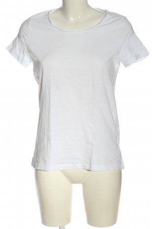 Tom Tailor T-Shirt weiß Casual-Look