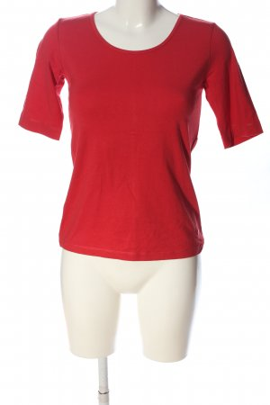 Tom Tailor T-Shirt rot Casual-Look