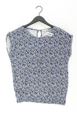 Tom Tailor T-Shirt Größe S mit Blumenmuster Kurzarm blau