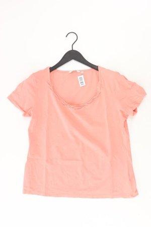 Tom Tailor T-Shirt Größe XXL Kurzarm orange aus Baumwolle