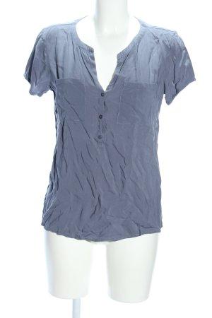 Tom Tailor T-Shirt hellgrau Business-Look