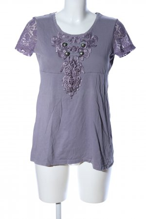 Tom Tailor T-Shirt lila Casual-Look