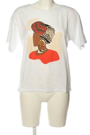 Tom Tailor T-Shirt Motivdruck Casual-Look