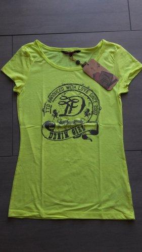 Tom Tailor T-Shirt neongelb Gr. XS (neu)