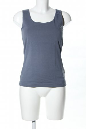 Tom Tailor Tanktop blau Casual-Look