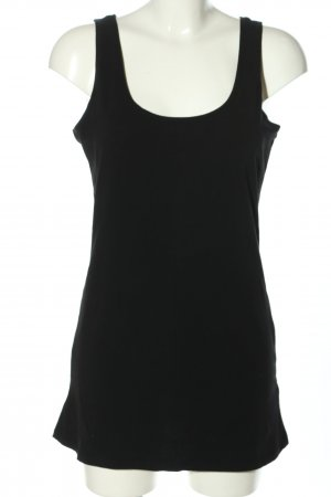 Tom Tailor Tanktop schwarz Casual-Look
