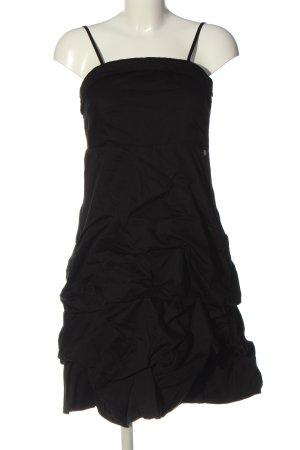 Tom Tailor Trägerkleid schwarz Elegant