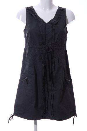 Tom Tailor Trägerkleid schwarz Casual-Look