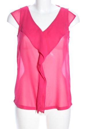 Tom Tailor Transparenz-Bluse pink Elegant