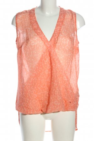 Tom Tailor Transparenz-Bluse Allover-Druck Casual-Look