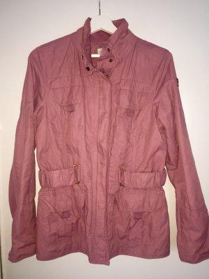 TOM TAILOR Trenchcoat Rosé Größe S