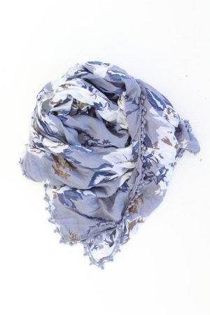 Tom Tailor Zomersjaal blauw-neon blauw-donkerblauw-azuur