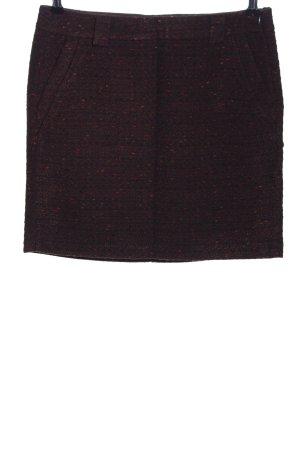 Tom Tailor Jupe en tweed moucheté style d'affaires