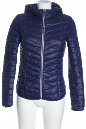 Tom Tailor Übergangsjacke blau Steppmuster Casual-Look