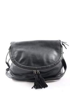 Tom Tailor Gekruiste tas zwart casual uitstraling