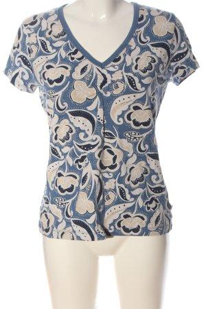 Tom Tailor V-Neck Shirt allover print casual look