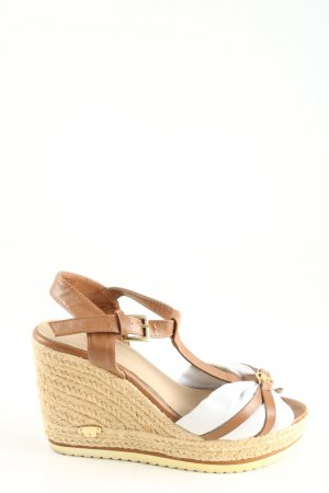 Tom Tailor Wedges Sandaletten mehrfarbig Casual-Look