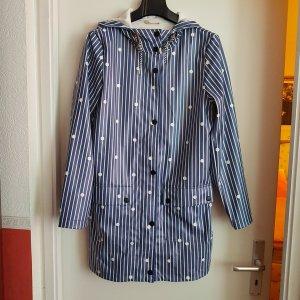 Tom Tailor Regenjas blauw-wit